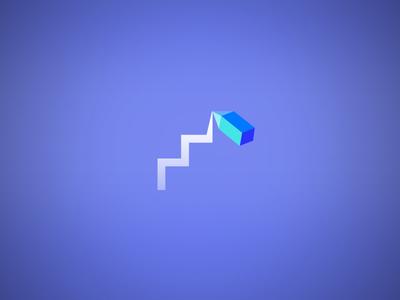 Business icon minimalist flat pen statistics stats logo icon business