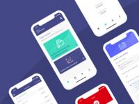 MyMoney app screens