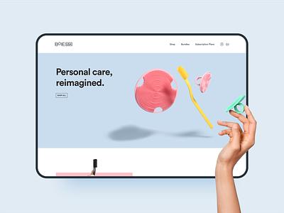Boie USA skin care eco-friendly health landing page ux ui web shopify store shopify plus startup e-commerce commerce