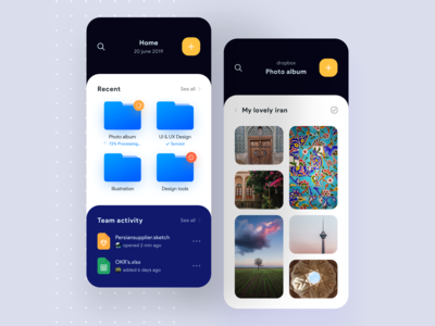 Dropbox Ui Concept