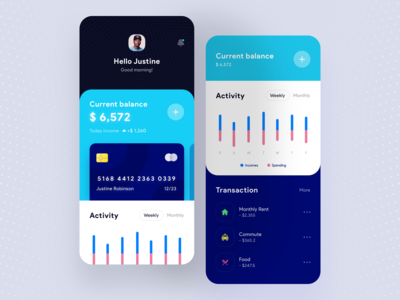 Finance Mobile App 💶💳
