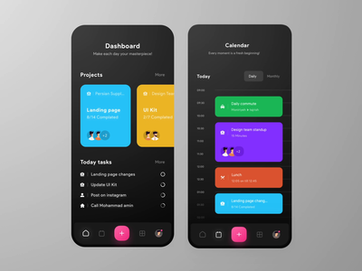 Todo Mobile App Animation