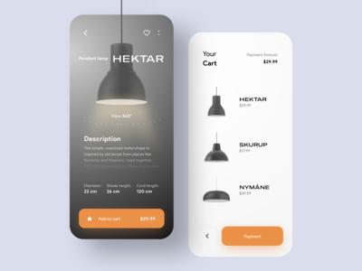 Lamp e-commerce App💡🛒