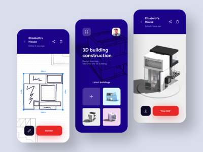 Sketch to 3D Building Model App 🏠