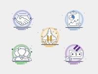 Icons for WIP Project