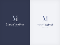 Law office logo concept
