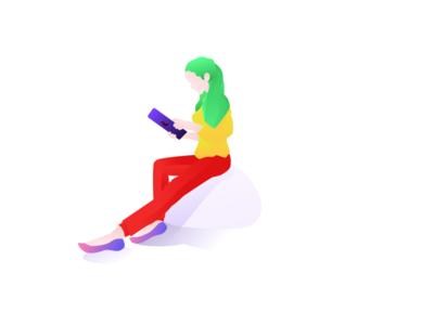 Female illustration