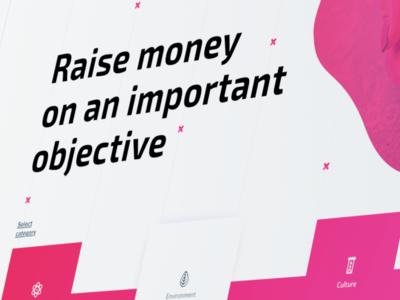 Charity platform Concept
