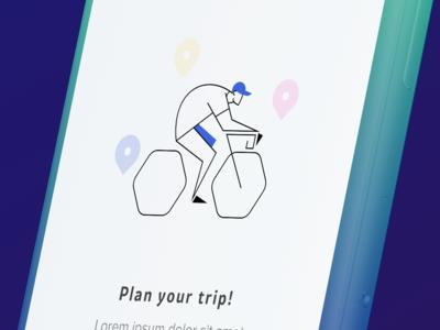 Onboarding - Bikerapp concept