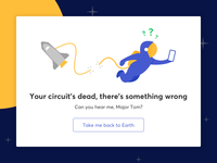 Space Oddity - 404 page