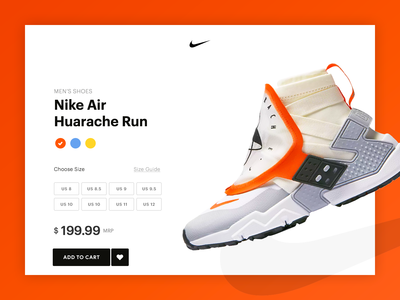Nike Store Page Concept