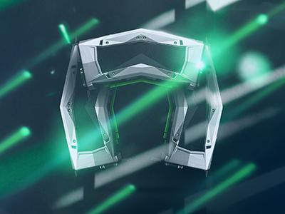NVIDIA. concept promotional design graphic