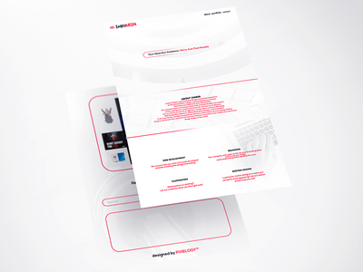LimberMedia design web ui