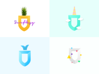 Playful SurfEasy Logos