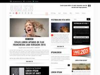 Globalnews Drag & Drop bootstrap responsive template