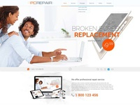 Computer (PC) Repair Bootstrap Template
