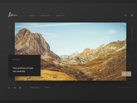Laterna - Photographer bootstrap template