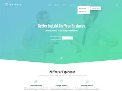 Ifinite - Multi-purpose bootstrap theme responsive templates website templates bootstrap themes bootstrap templates multipurpose template