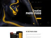 Photo Studio Bootstrap 4 Template