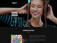Region Radio FM Woo-Commerce WordPress Template