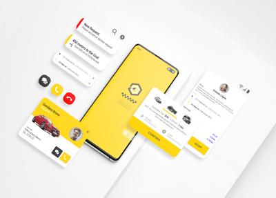 GiTex - Taxi Ui Kit for Mobile App