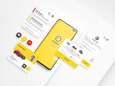 Gitex - Taxi HTML Mobile Application adobe adobe xd creative clean branding design app ux ui taxi driver taxi taxi booking app taxi app html mobile application mobile application mobile app