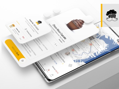 food discovery adobe minimal app design branding ux uiux ui mobile app food delivery app food app food delivery