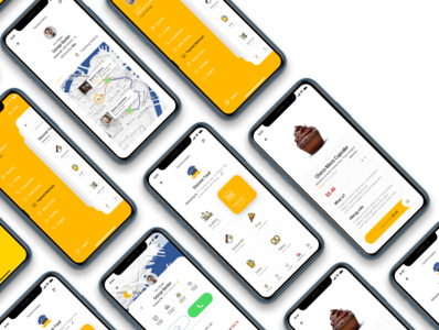 Dobule - Food Delivery UI Kit / CUSTOMER SIDE