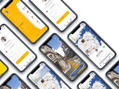 Dobule - Food Delivery UI Kit for Mobile App / DRIVER VERSION