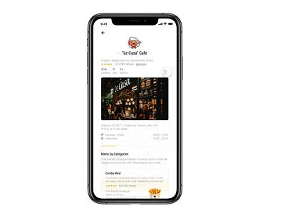 Dobule - Food Delivery / Customer Side animation branding graphic design ux ui mobile clean food ios minimal clear app design app