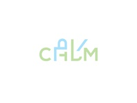 Keep Calm and do your Kaam logotype symbol mark logo calm work