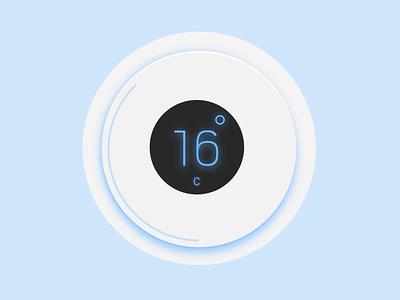 Temperature 🌡️ drama userinterface interaction design gauge temperature