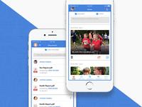 Social platform - Mobile UI/UX