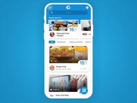 Discounts app interaction
