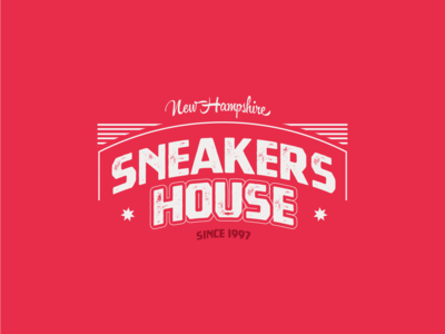 Sneakers House ~ Daily logo Challenge (Day 30)