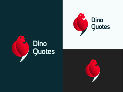 Dino Quotes ~ Daily logo Challenge (Day 35)