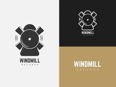 Windmill Records ~ Daily logo Challenge (Day 36)