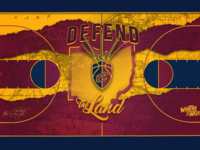 Cleveland Cavaliers - Basketball court