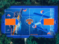 New York Knicks - Basketball court