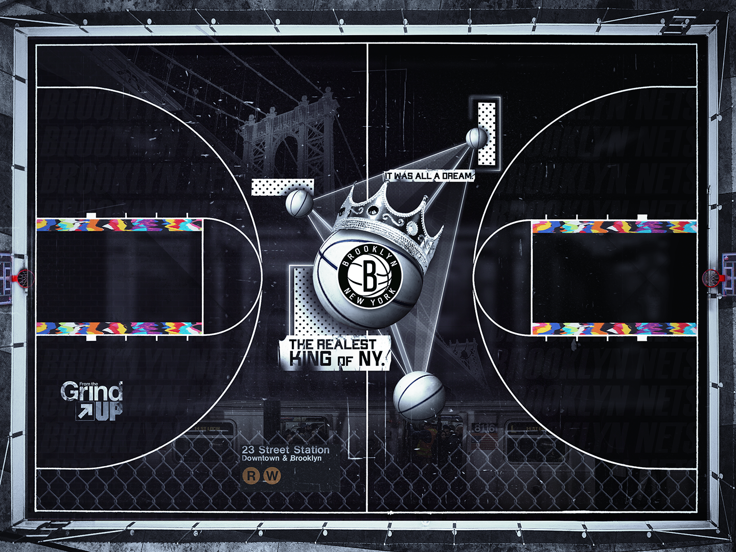 Brooklyn Nets Basketball Court By Terry Soleilhac On Dribbble