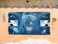 Orlando Magic - Basketball court