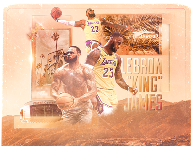 "LeBron ""King"" James - Graphic"