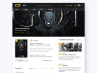 IMDb Redesign - TV Show Page