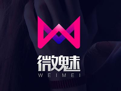 Weimei vision logo brand