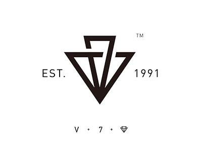 V&7 v 7 logo