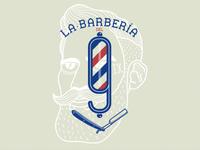 Logo La Barbería del 9