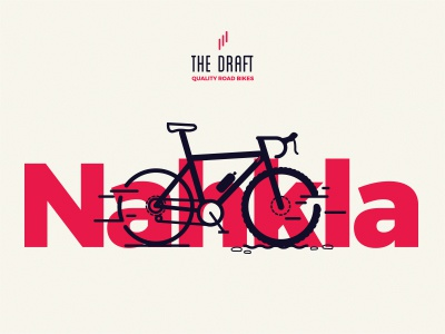 Nahkla Model. The Draft. bike icon cycling bicycle