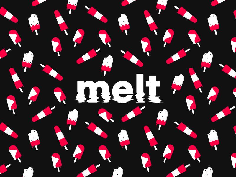 Melt Ice Pops melting illustrator popsicles popsicle ice cream