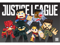 Justice League Minecraft Skin