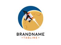Space Penguin Logo
